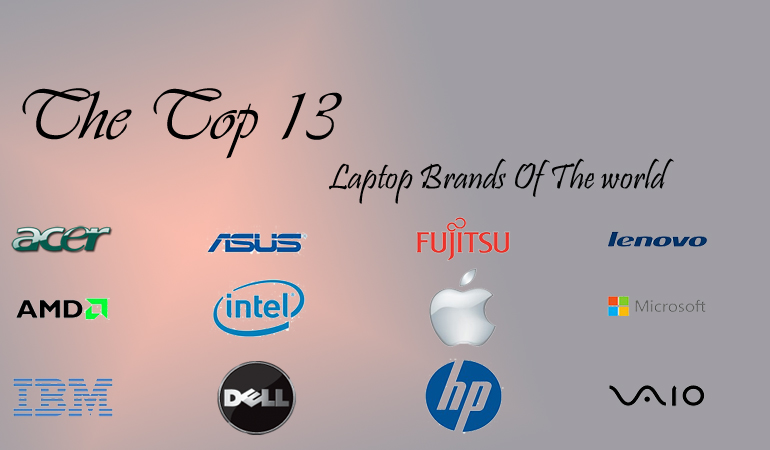 The-Top-13 Laptop Brands