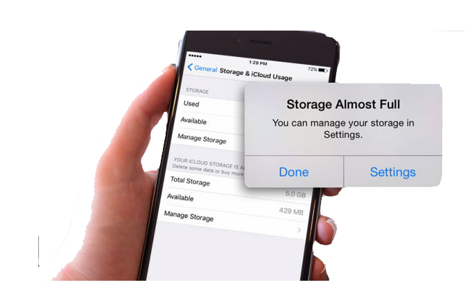 Iphone Storage Full Got A Message Now Solved Xehelp