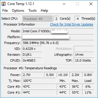 Core Temp Full Download [Latest] Version Is Here! 2018