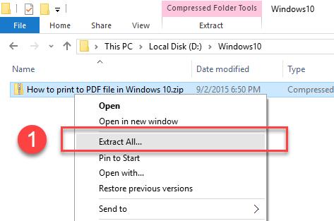 How To Unzip Files Windows 10