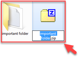 How To zip Files On Windows 7 -2