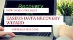 How to Recover Data Via EaseUS Data Recovery Wizard Free